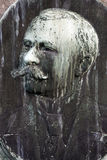 Placa frontal del hombre imágenes de archivo libres de regalías