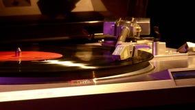 Placa giratoria para los discos del vinilo