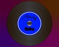 Placa HipHop ilustración del vector