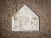Placa home Foto de Stock