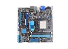 Placa do cartão-matriz do computador Fotografia de Stock Royalty Free