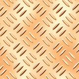 Placa inconsútil del diamante del oro Foto de archivo