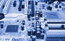 Placa madre del ordenador Imagenes de archivo