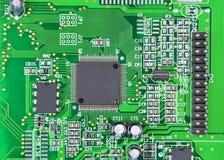 Placa madre del ordenador Fotografía de archivo libre de regalías