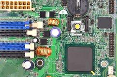 Placa madre del ordenador Fotos de archivo