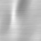 Placa metálica de aço escovada ilustração royalty free