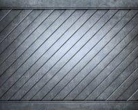 Placa metálica de alumínio escovada útil para o backgro Imagem de Stock