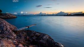 Placa norueguesa da mola imagens de stock royalty free