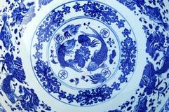 Placa oriental de los azulejos Foto de archivo