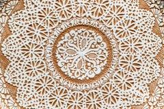 Placa ornamental Imágenes de archivo libres de regalías
