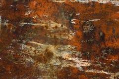 Placa oxidada Foto de archivo