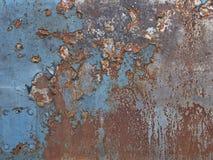 Placa oxidada Foto de Stock