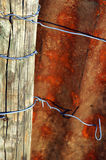 Placa oxidada del metal Imagenes de archivo