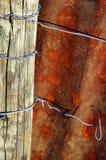 Placa oxidada do metal Imagens de Stock