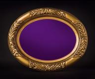 Placa púrpura Imágenes de archivo libres de regalías