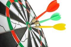 Placa para dardos. Imagens de Stock