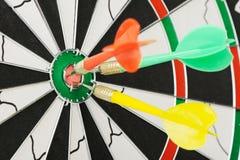 Placa para dardos. Foto de Stock Royalty Free