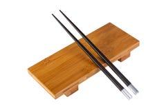 Placa para el sushi Foto de archivo libre de regalías