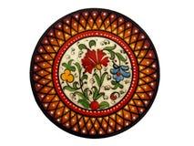 Placa pintada a mano española Imagenes de archivo