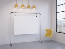 Placa portátil na sala Imagens de Stock