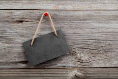 Placa preta da ardósia Fotografia de Stock Royalty Free