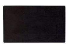 Placa preta de madeira Fotografia de Stock