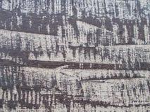 Placa preta de madeira pintada velha, clolse acima da superfície de madeira fotografia de stock royalty free