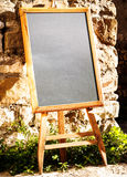 Placa preta vazia Imagem de Stock Royalty Free