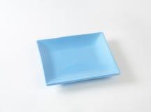 Placa quadrada azul Fotos de Stock Royalty Free