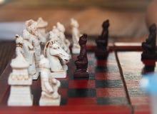 Placa quadriculado chinesa Foco seletivo imagem de stock royalty free
