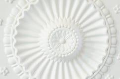 Placa redonda del techo fotografía de archivo libre de regalías