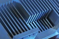Placa refrigerando de alumínio Imagem de Stock Royalty Free