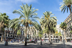 Placa Reial, Barcelona Stock Photography