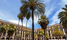 Placa Reial - Barcelona Spain Stock Images
