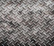 Placa áspera del diamante negro Fotografía de archivo