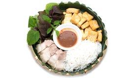 Placa tradicional vietnamita imagen de archivo libre de regalías