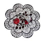 Placa turca de la teja - aislada Imagen de archivo libre de regalías