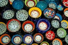 Placa turca del azulejo Fotos de archivo