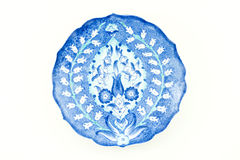 Placa turca del azulejo foto de archivo libre de regalías