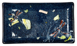 Placa Unwashed da salada comida   Fotos de Stock Royalty Free