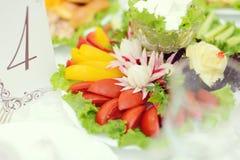 Placa vegetal Imagens de Stock Royalty Free