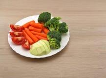 Placa vegetal Imagens de Stock