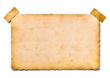 Placa velha da foto retro Fotografia de Stock Royalty Free