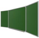 Placa verde magnética grande Foto de Stock Royalty Free