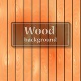 Placa vertical de madeira Fotografia de Stock