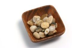 Placa y piedras orientales 01 foto de archivo libre de regalías