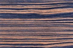 Placage de bois d'ébène image libre de droits