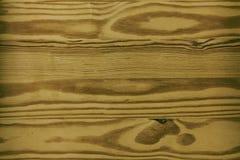 Placage naturel de pin, vieux fond naturel Images libres de droits