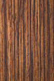 Placage normal en bois de teck Photos libres de droits