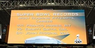 Placar do gigante do estádio dos cowboys Imagem de Stock
